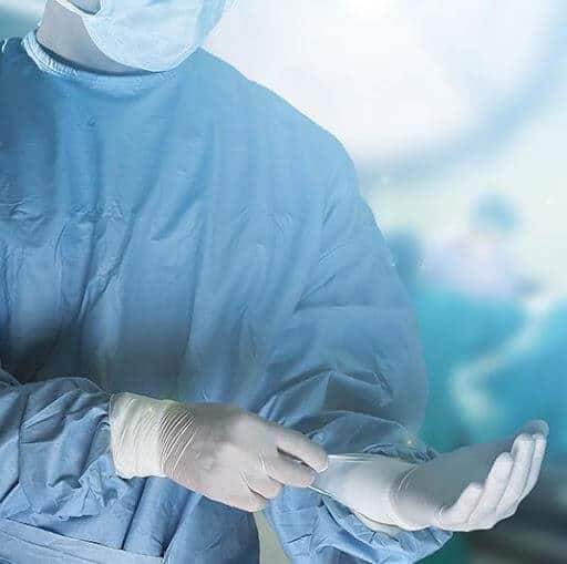 Surgeon Hands