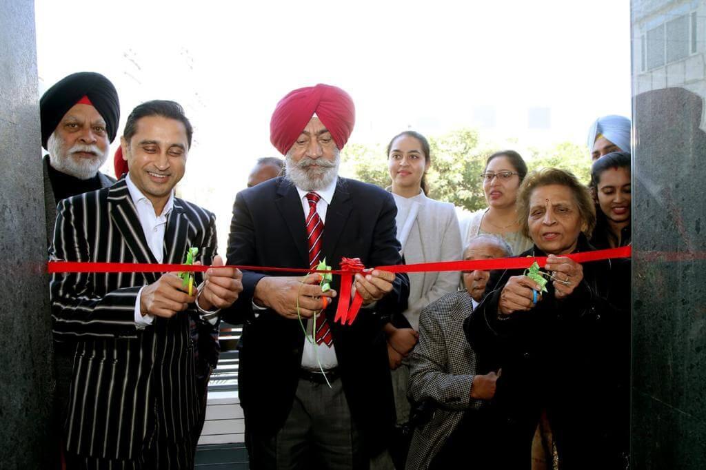 GIOSTAR Chandigarh Inauguration   Deven Patel, Drs. SS Gill, Rama Sood,